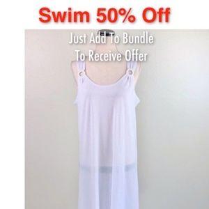 J Valdi Swim Beach Coverup Dress
